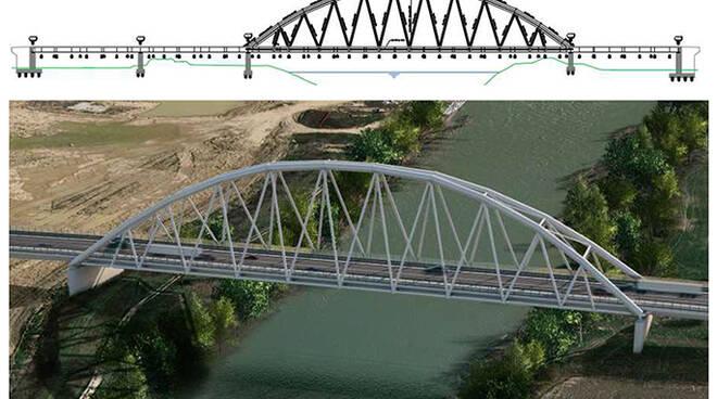 nuovo ponte fra Montelupo e Capraia località Fibbiana