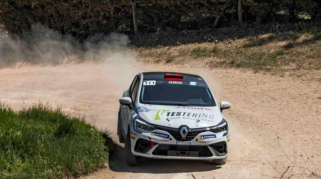 Piergiorgio Barsanti Ndm Techno Renault Clio Rally5