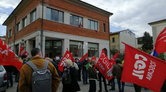 Presidio antimafia Cgil 19 aprile Santa Croce