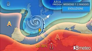 previsioni 3b Meteo weekend 1 maggio 2021