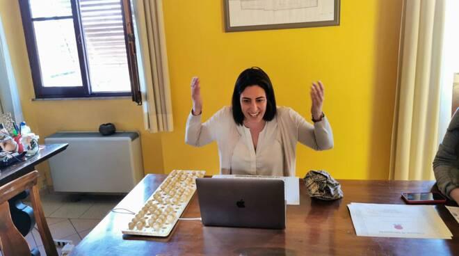 Sara D'Ambrosio tombola web Altopascio