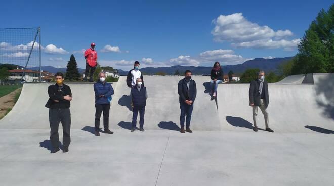 sopralluogo skate park San Vito
