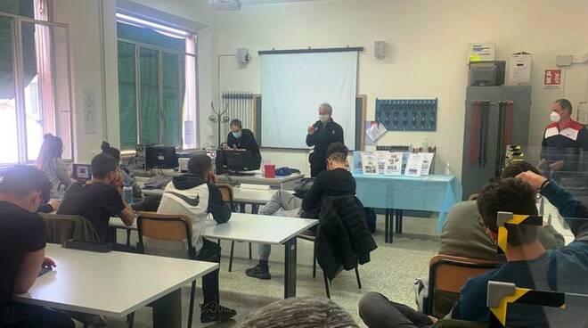 Stefano Gori incontra gli studenti del Giorgi