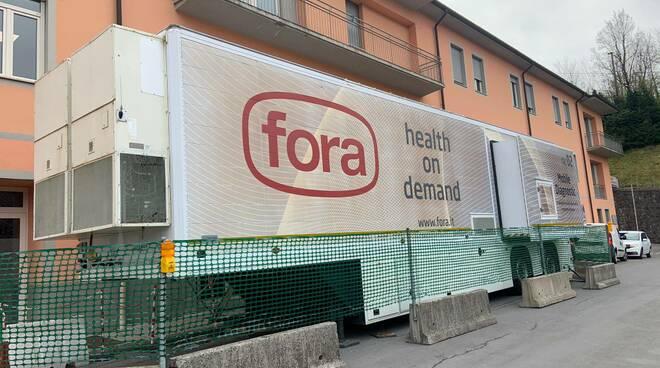 Tac esterna all'ospedale di Castelnuovo