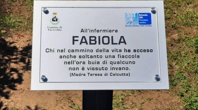 targa infermiera Fabiola Pratali ospedale San Pietro Igneo Fucecchio
