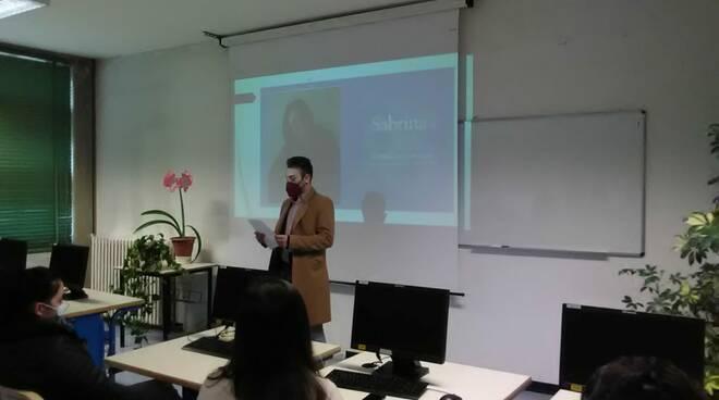 targa professoressa Bagnato Ite Carrara