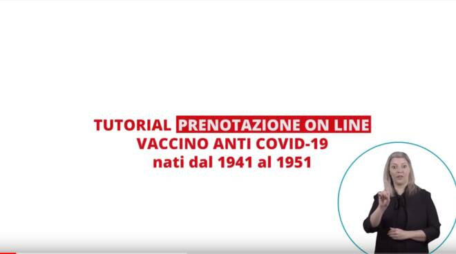 video tutorial per i vaccini
