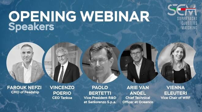 webinar sostenibilità e futuro nel mondo del superyacht