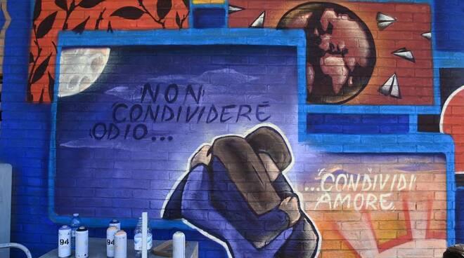 400 drops Comune di Firenze, Regione, Oxfam marcia diritti umani