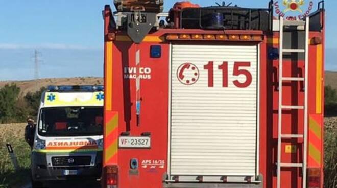 ambulanza vigili del fuoco