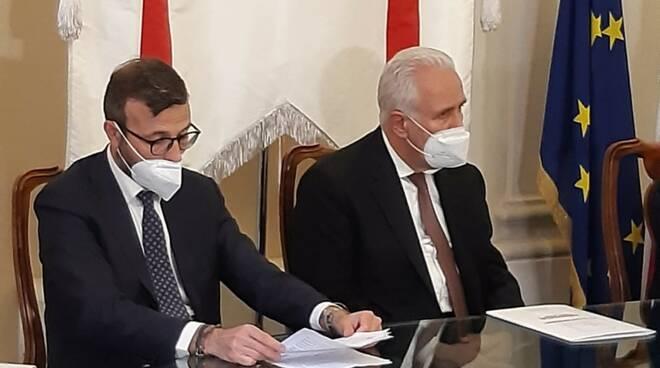 Antonio Mazzeo e Eugenio Giani