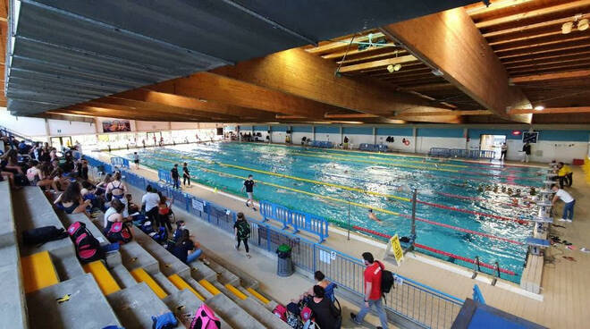 Aquateam nuoto cuoio alla coppa mar tirreno di Livorno