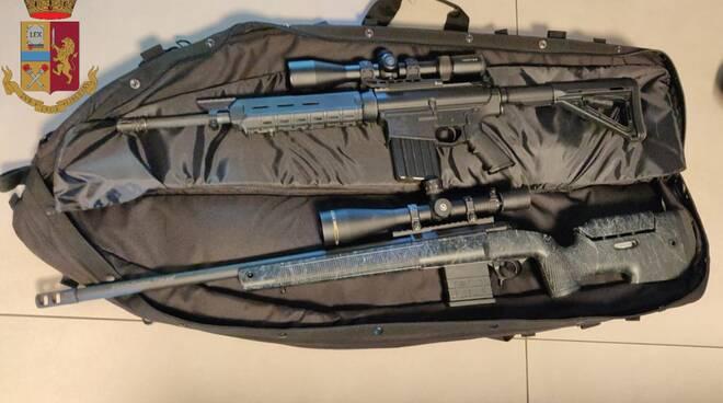 armi denuncia San Concordio polizia Lucca