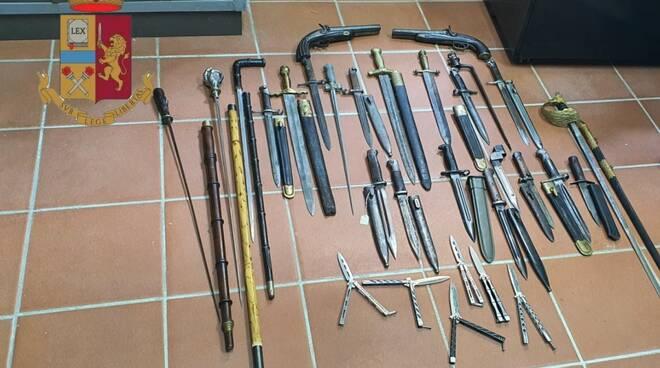 armi in vendita mercato antiquariato