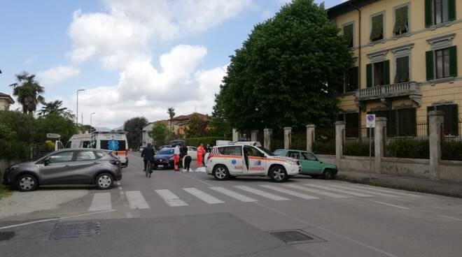 arresto cardiaco strada via Sercambi San Concordio Lucca