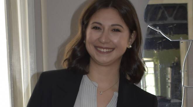 Benedetta De Luca prima laureata in Management for business and economics
