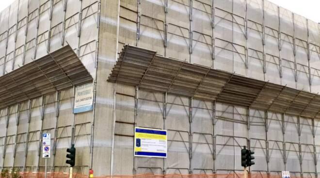 cantiere ex caserma dei carabinieri di Viareggio