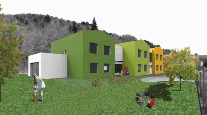 cantiere polo scolastico Monsagrati