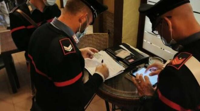 carabinieri ristorante cinese