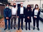 Ceccardi visita a Lucca istituzioni