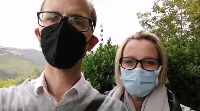 Claudio Gemignani e Laura Lucchesi Un futuro per Bagni di Lucca