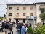 Corte Ungaretti targa Lucca