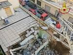 crollo tetto asilo livorno