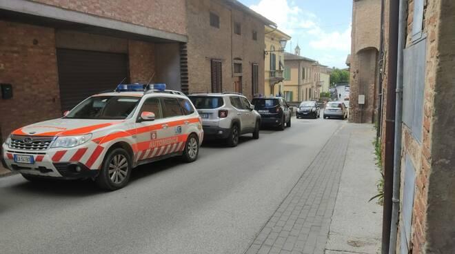 decesso via Carducci San Miniato 25 maggio 2021