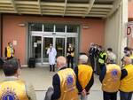donazione Lions zona G ospedali Barga e Castelnuovo