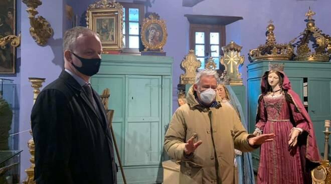 Eike Schmidt in visita a Castiglione Garfagnana