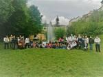 fontana riqualificata parco Kennedy Barga