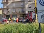 foto recupero cadavere Arno San Donato di San Miniato