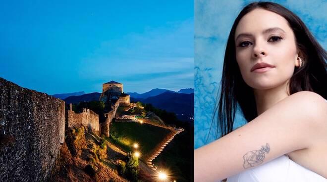 Francesca Michielin alla fortezza delle verrucole
