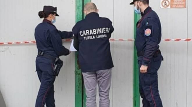 carabinieri prato arresto titolare ditta tessile