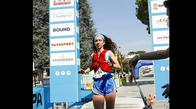 Gs Orecchiella Garfagnana atleti 3000 metri Ilian Angeli, Girma Castelli e Francesca Setti