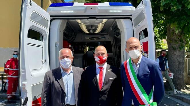 Inaugurazione nuova ambulanza Uliveto Terme