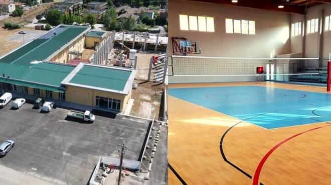 Inaugurazione palazzetto dello sport Ghivizzano