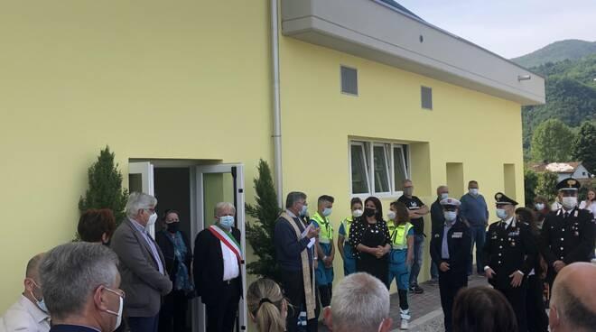 inaugurazione palazzetto Ghivizzano