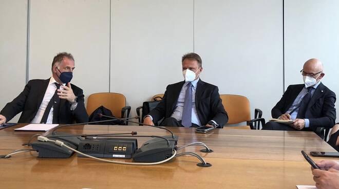 L'incontro tra la delegazione Fdi e il ministro del turismo