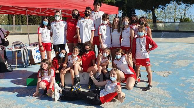 Lucca Roller Club campioni regionali