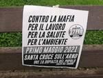 manifestazione Santa Croce sull'Arno Primo Maggio contro le mafie comitato 27 febbraio