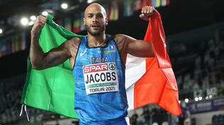 Marcell Jacobs record italiano 100 metri