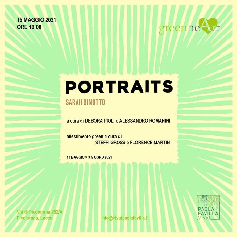 Mostra Portraits a Greenheart