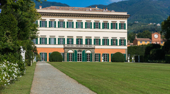 Napoleone Palazzo Ducale Villa Reale Marlia guida Il Mulino