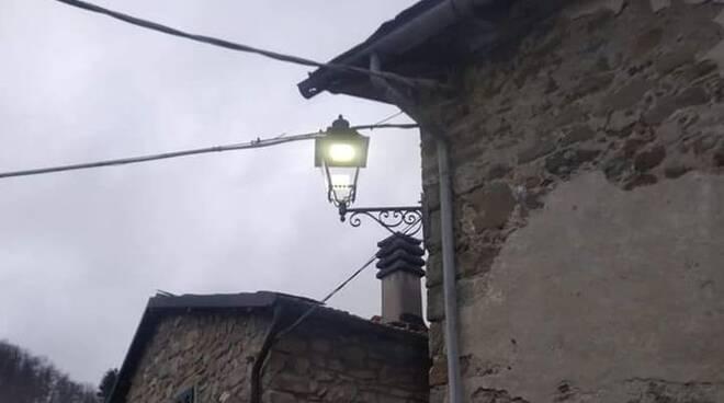Nuovi punti luce nelle frazioni di Minucciano