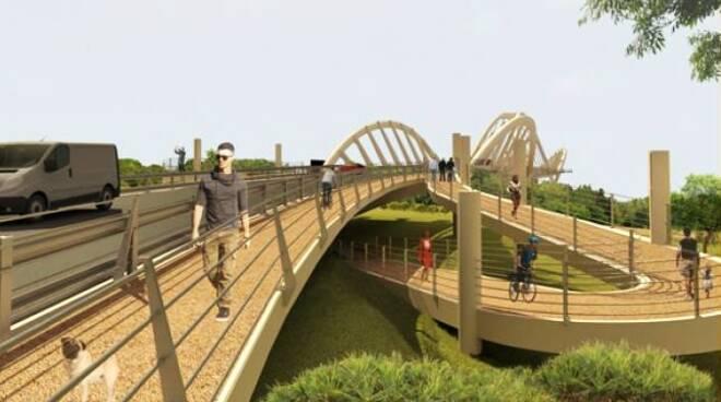 nuovo ponte sul Serchio
