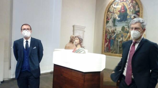 Opere inedite di Civitali in mostra a Villa Guinigi
