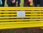 panchina gialla diritti dell'uomo