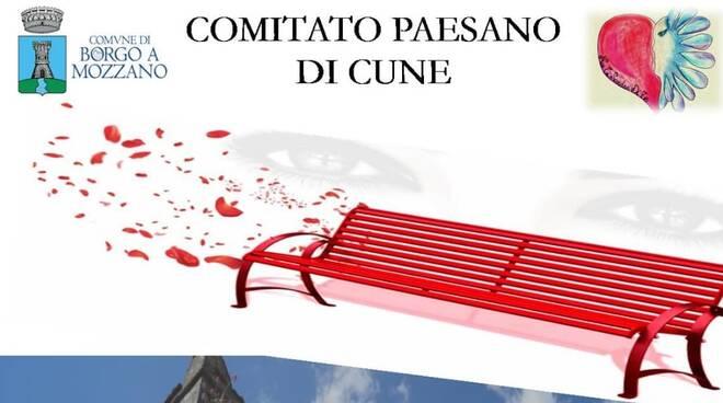 Panchina rossa Cune