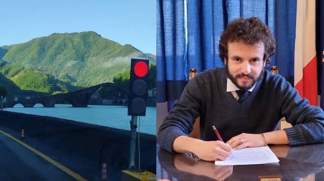 Semaforo Ponte del Diavolo e Andreuccetti